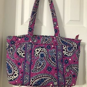 Vera Bradley Mandy Tote Retired Boysenberry